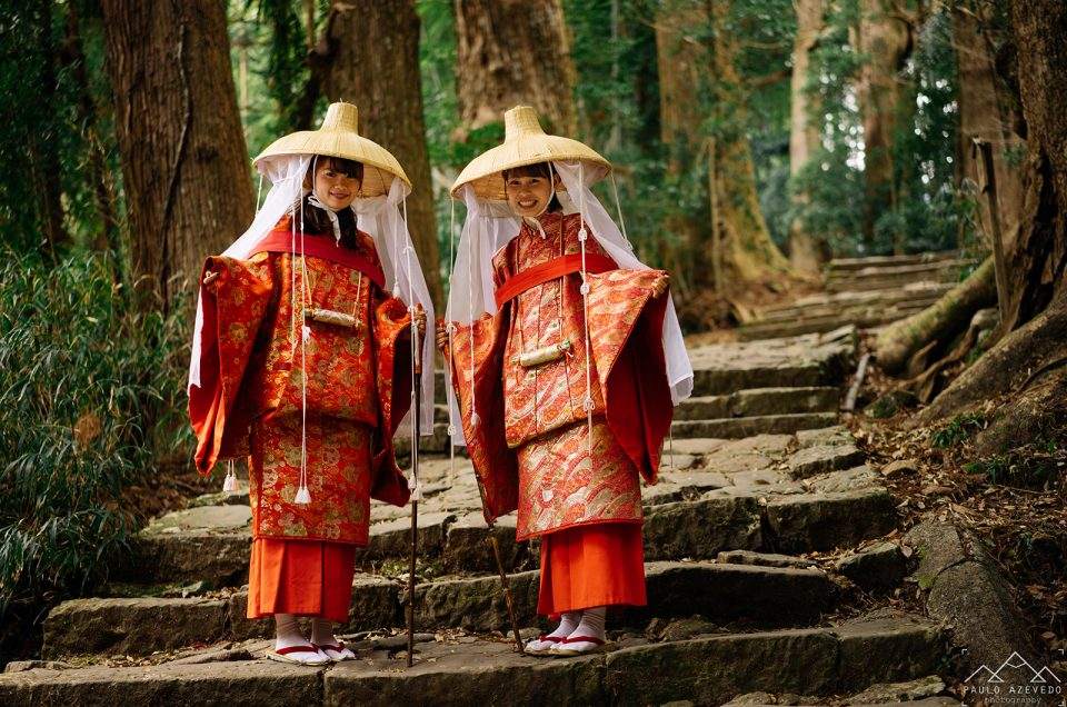 Daimon-zaka, de degrau em degrau até à maior cascata do Japão
