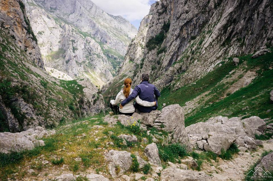 Pelo antigo caminho entre Bulnes e Poncebos