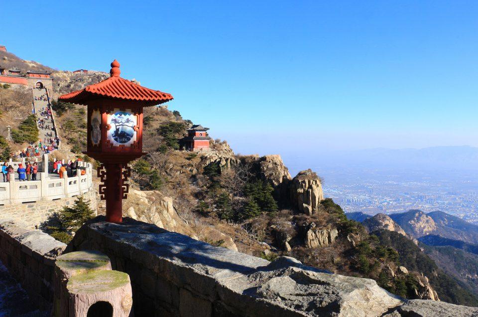 Tài Shãn, a montanha mais escalada do mundo