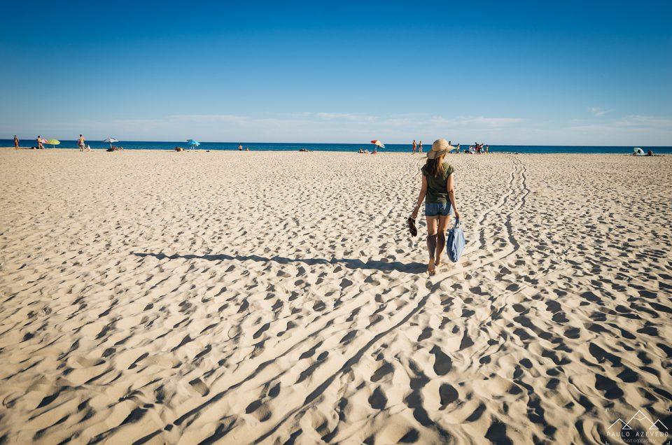 Uma praia no meio do mar em Cacela Velha