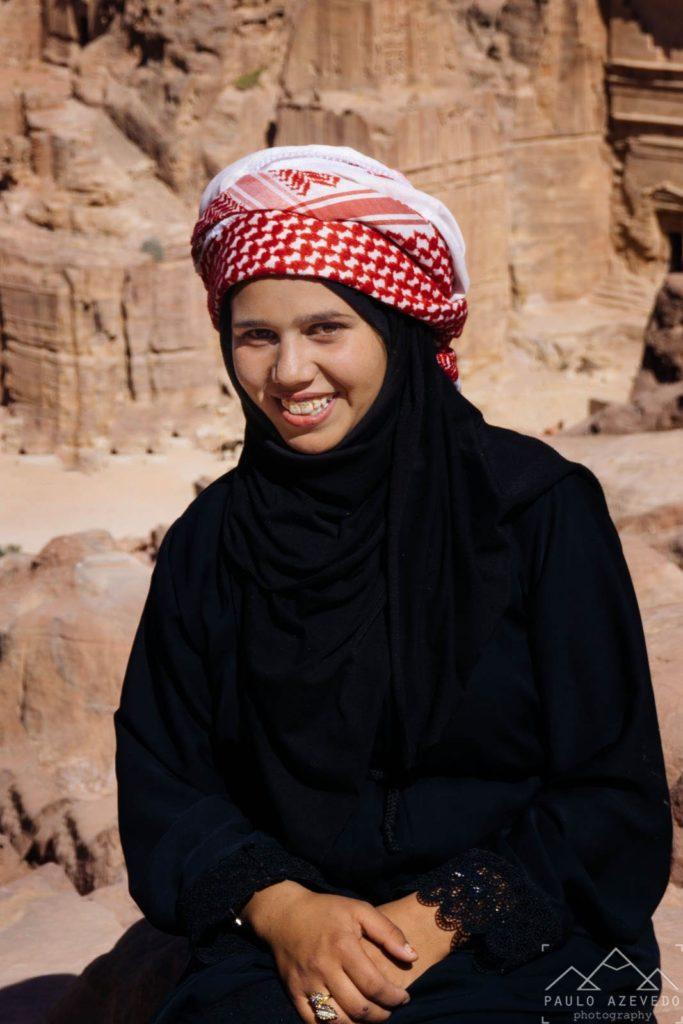 Jovem Beduína