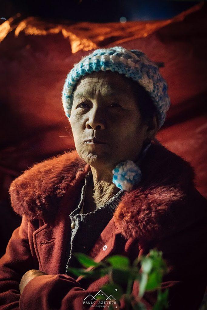 Vendedora de Maçarocas - Myanmar