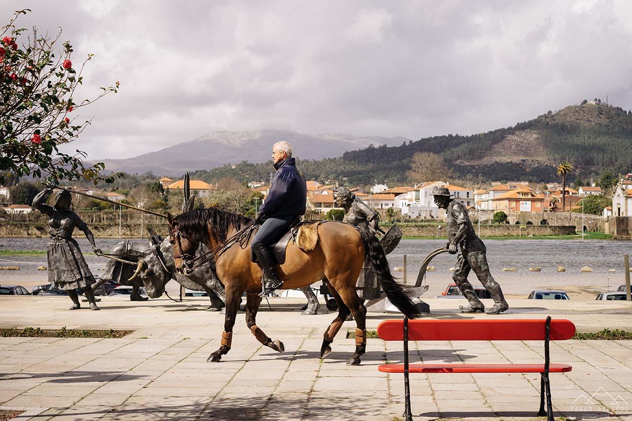 Cavaleiro em Ponte de Lima