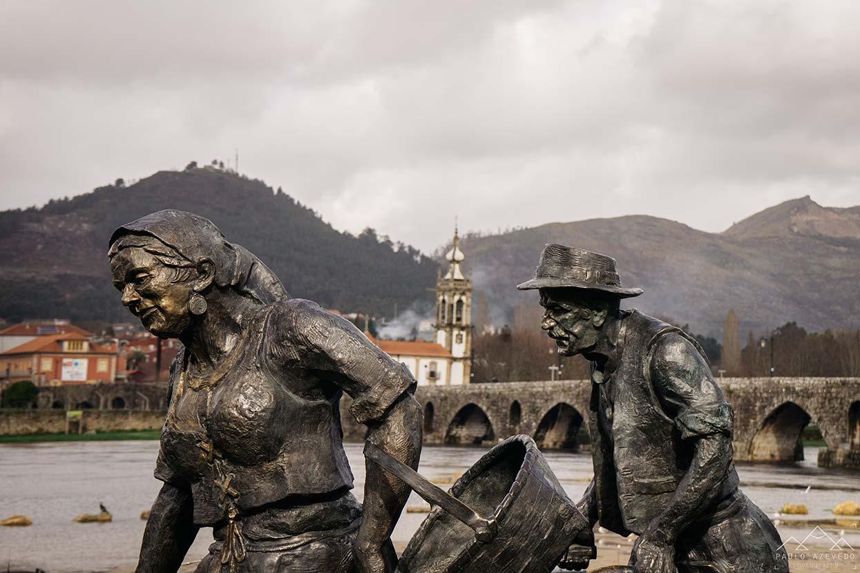 Estátua Memórias do Campo em Ponte de Lima