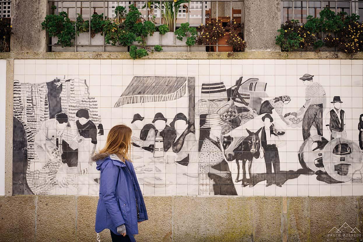 Painel de Azulejos em Ponte de Lima