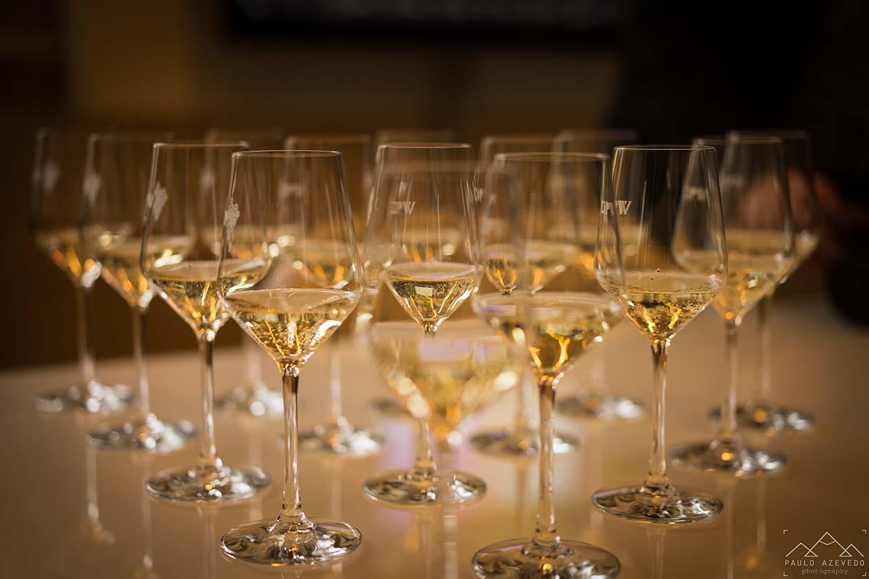 Prova de vinhos no Centro de Interpretação e Promoção do Vinho Verde