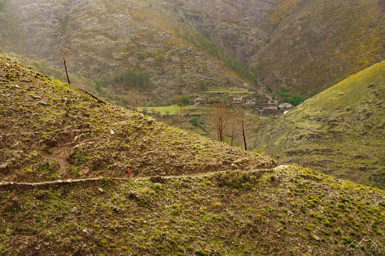 Vista panorâmica do trilho de Drave