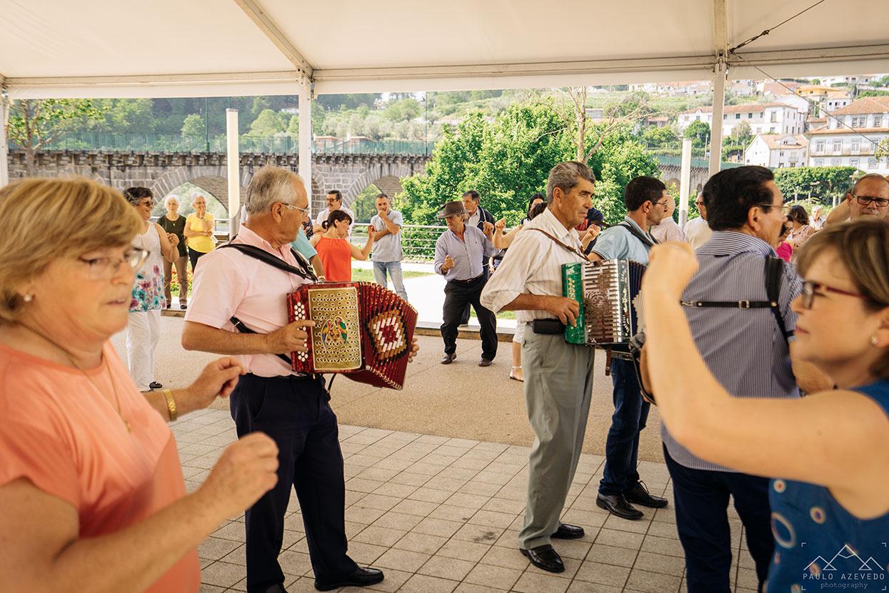 Bailarico no Jardim do Poetas em Ponte da Barca