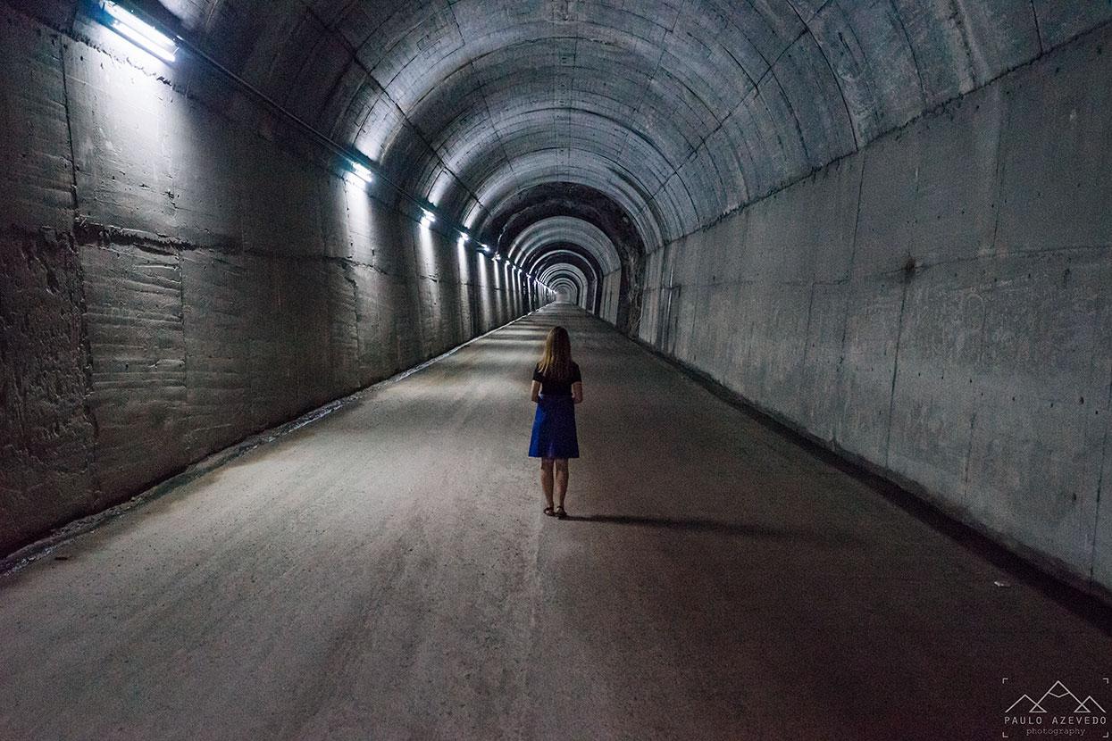 Acesso à central hidroelétrica do Alto Lindoso