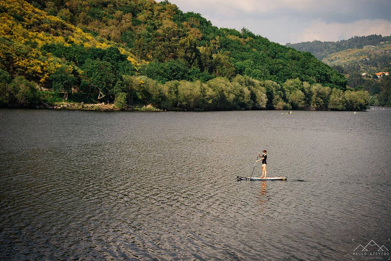 Stand-up paddle em Ponte da Barca
