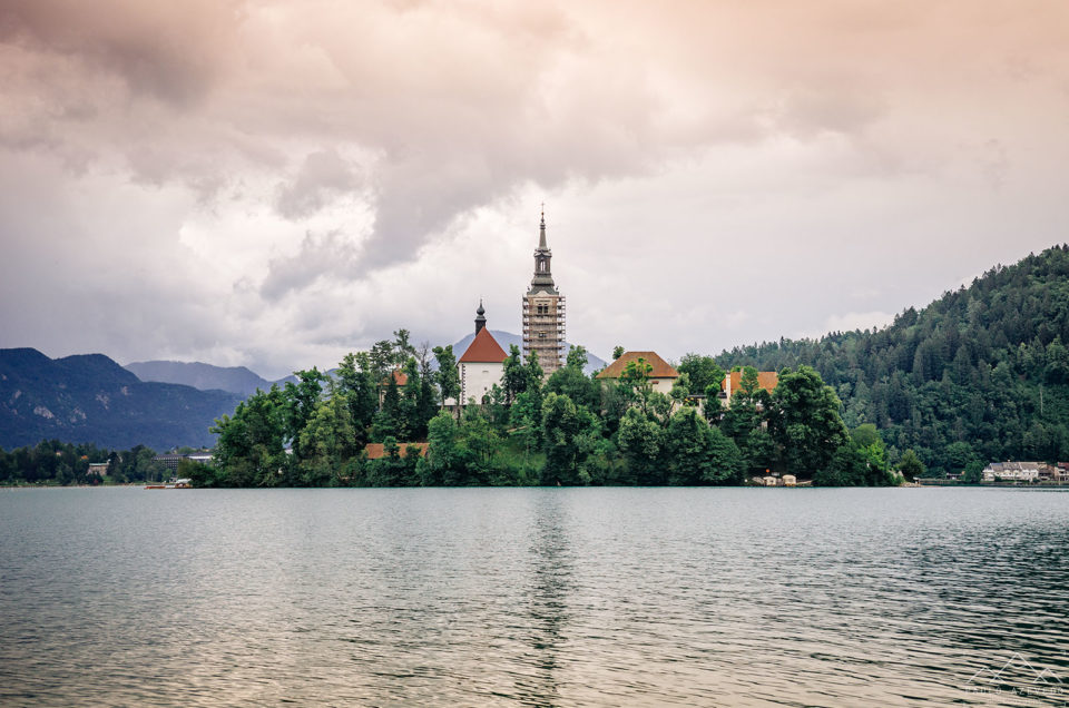 Dois dias no Lago Bled