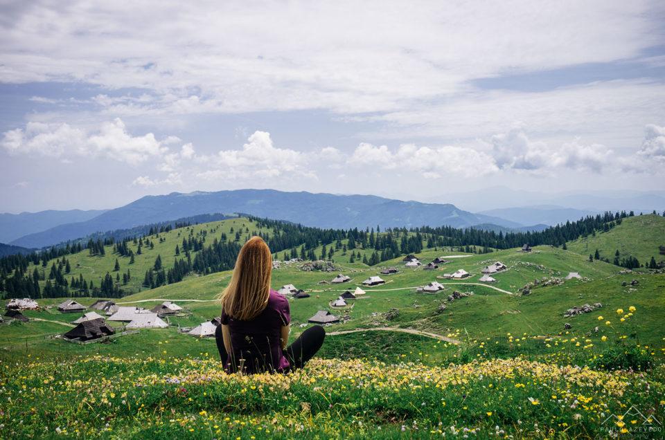 Como a Heidi em Velika Planina