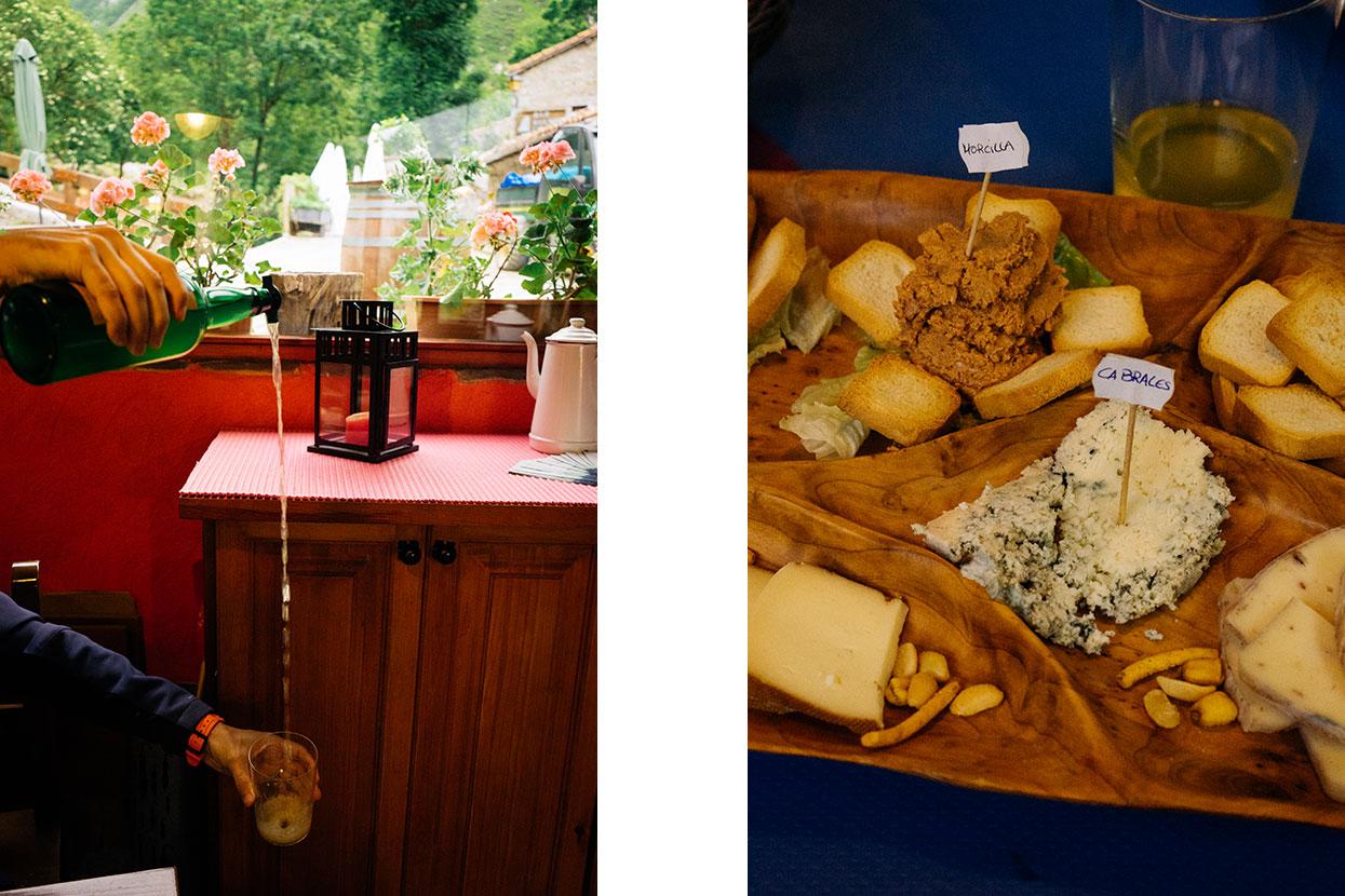 Sidra e queijos dos Picos da Europa