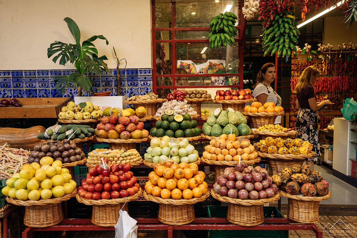 Fruta no Mercado dos Lavradores