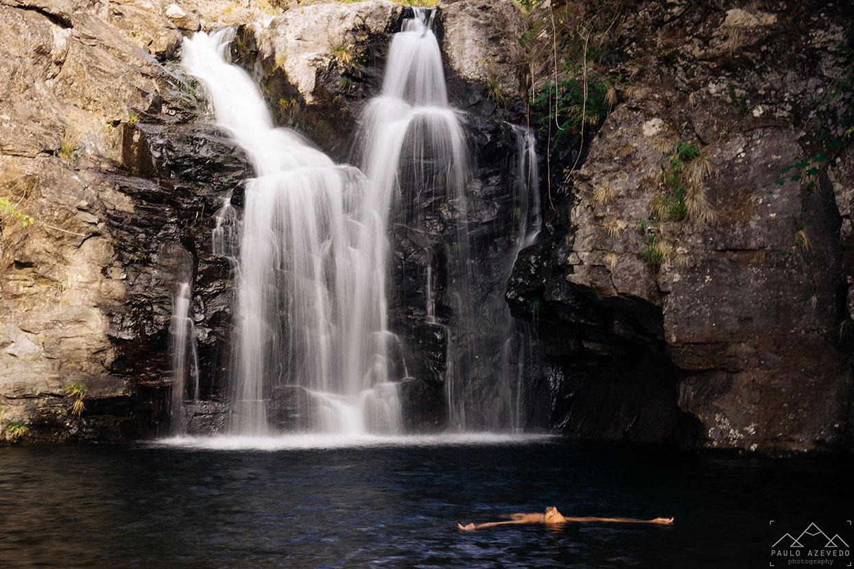 Cascata e lagoa da Dona Beja