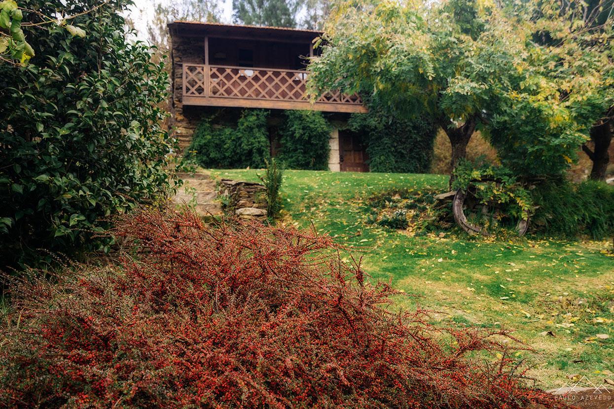 uma das casas da quinta da rabaçosa