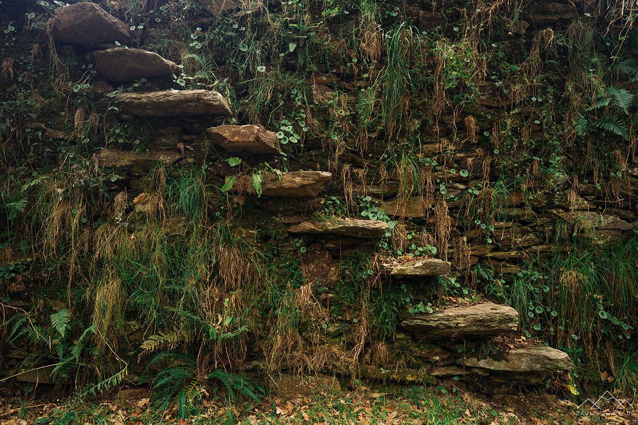 escads de pedras antigas na quinta da rabaçosa