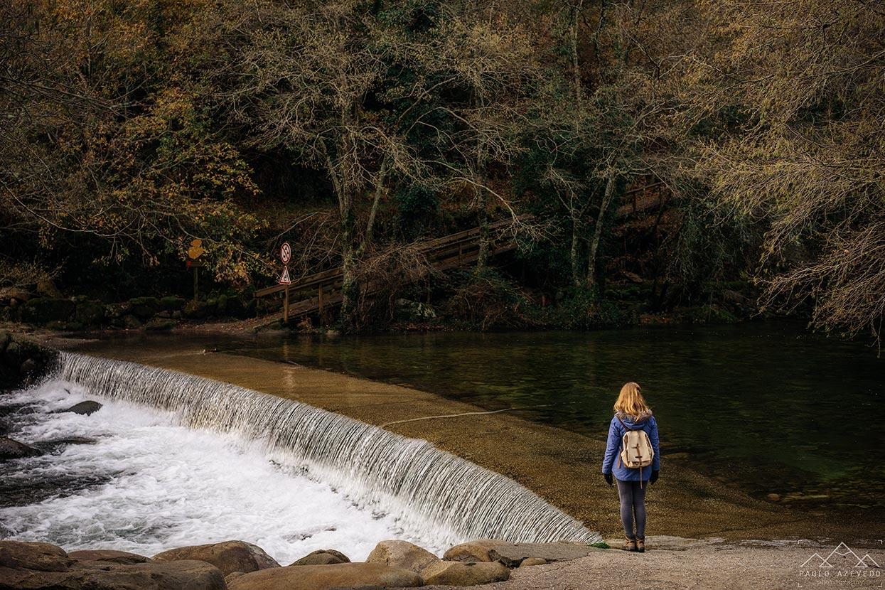 passagem pelo rio, passadiços de sistelo