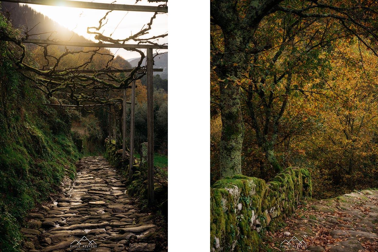 caminho antigo de pedra até aos passadiços de sistelo