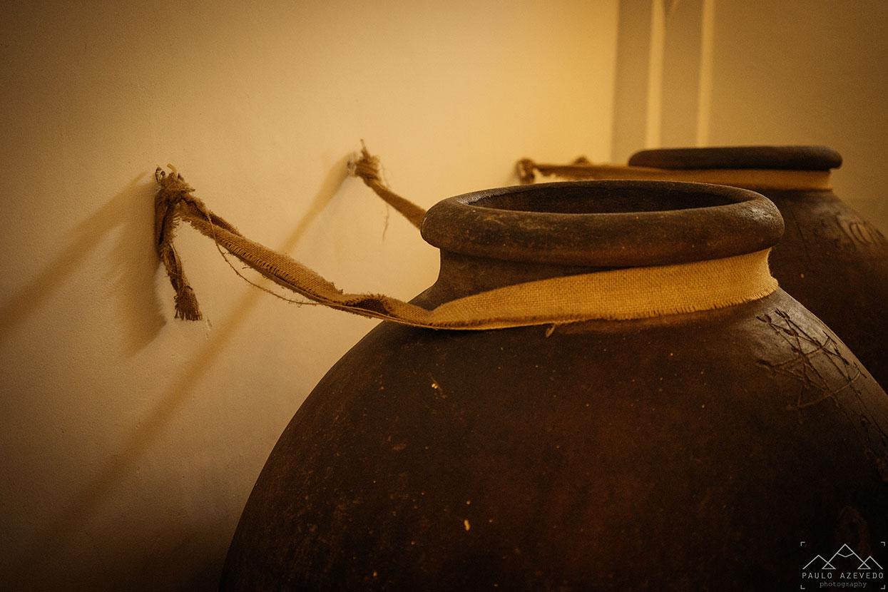 Talhas no restaurante Divinus, Convento do Espinheiro, Évora