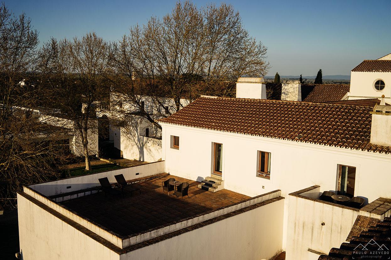 Terraço, Convento do Espinheiro, Évora
