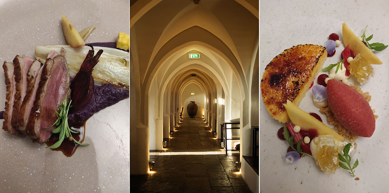 Divinus, o restaurante Convento do Espinheiro, um hotel histórico em Évora