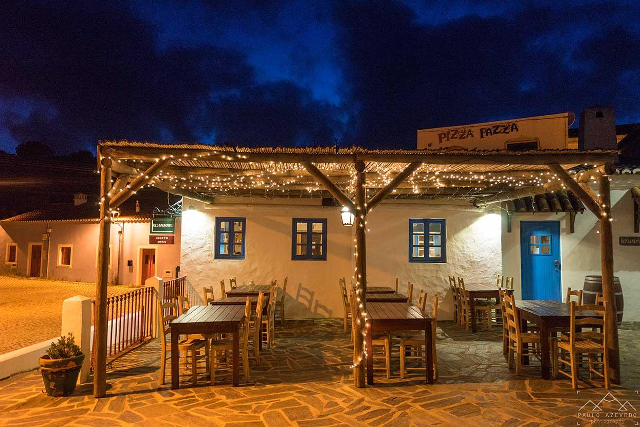 café central na aldeia da pedralva