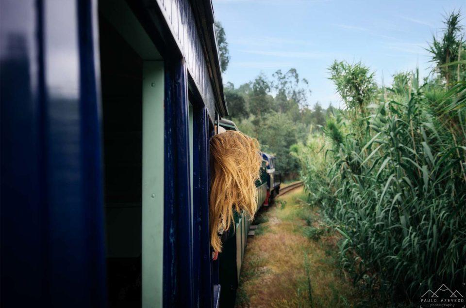 Momentos Felizes no Comboio Histórico do Vouga