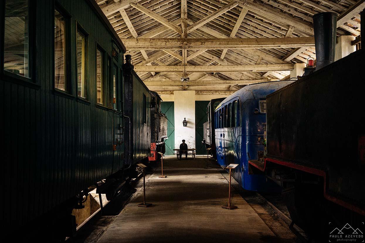 Comboios no Museu de Macinhata do Vouga