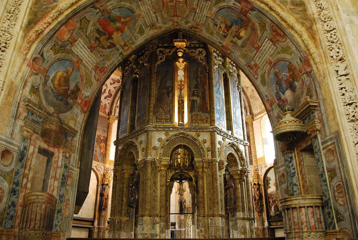 Charola dos Templários no Convento de Cristo