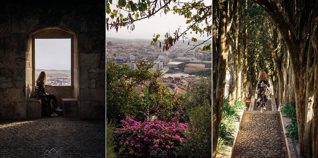 Pormenores do Castelo dos Templários em Castelo Branco