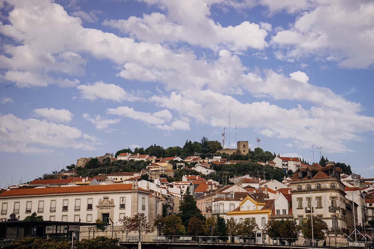 Vista de Castelo Branco a partir da Praça da Devesa