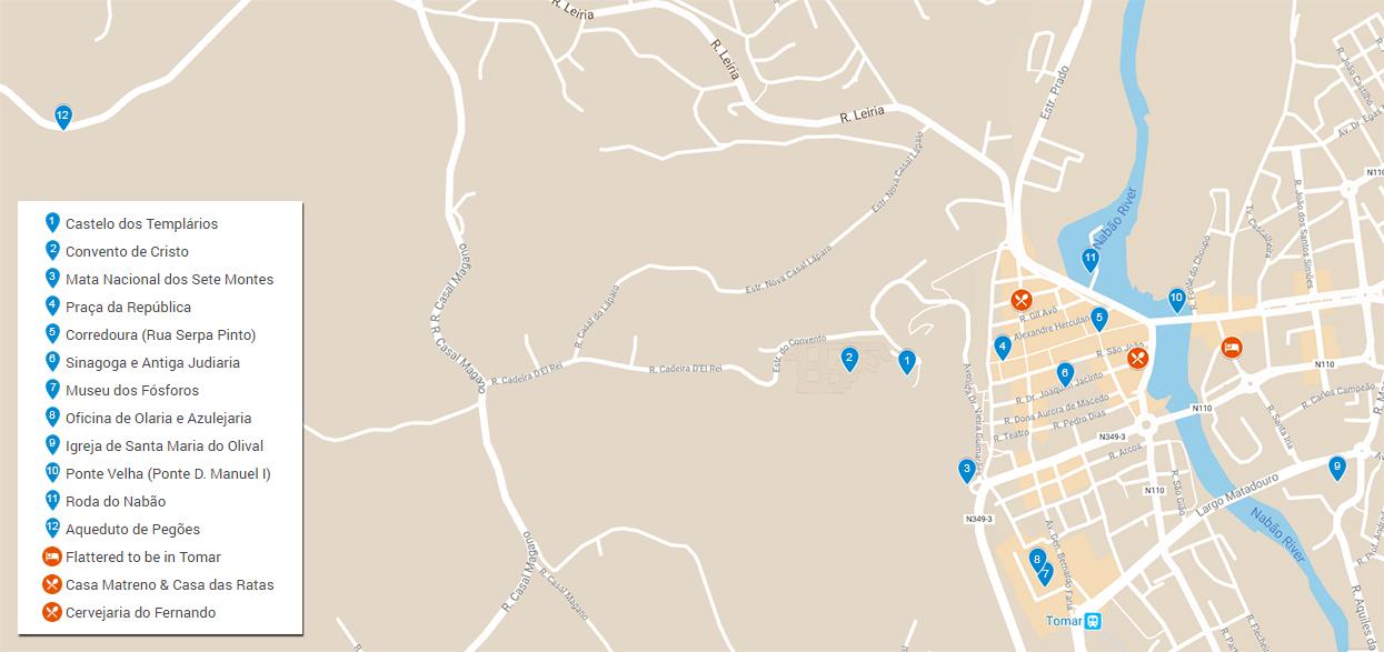 tomar mapa