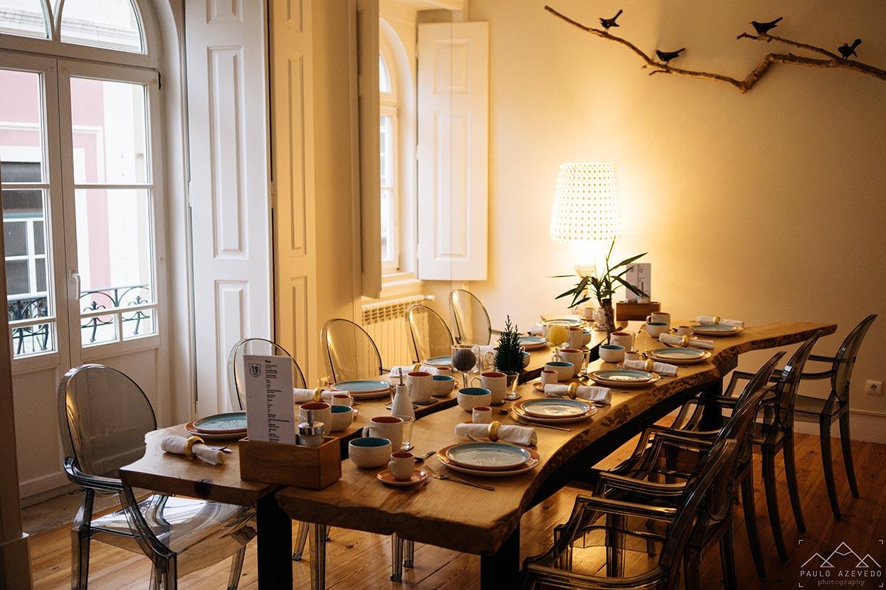 Sala do pequeno-almoço no 19 Tile Boutique House