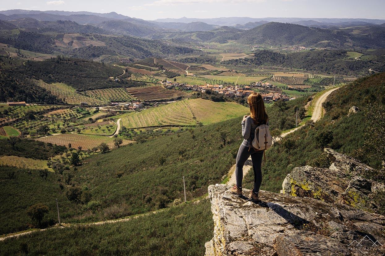 Vista desde o Santuário de Nossa Senhora dos Remédios, Vila Flor