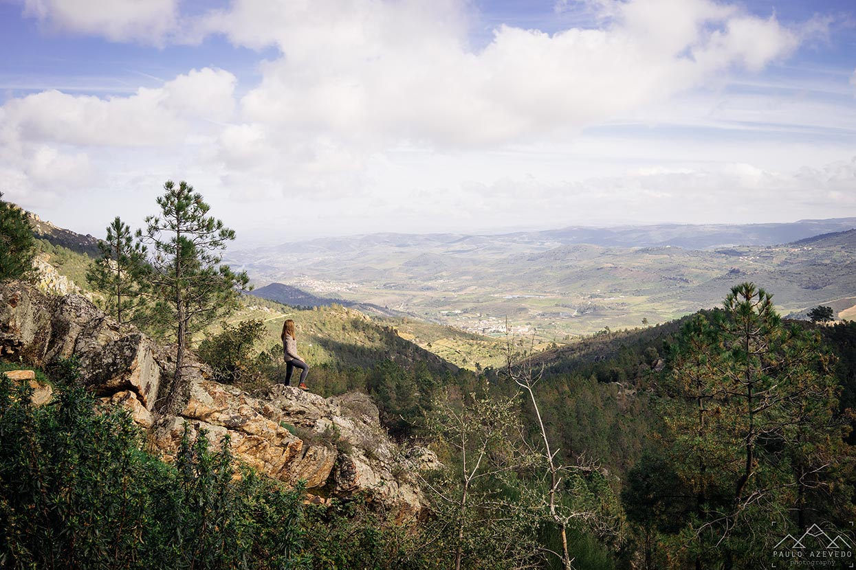 Vista desde o Percurso Pedestre Vilas Boas – Vilarinho pelos Caminhos da Serra do Faro, em Vila Flor