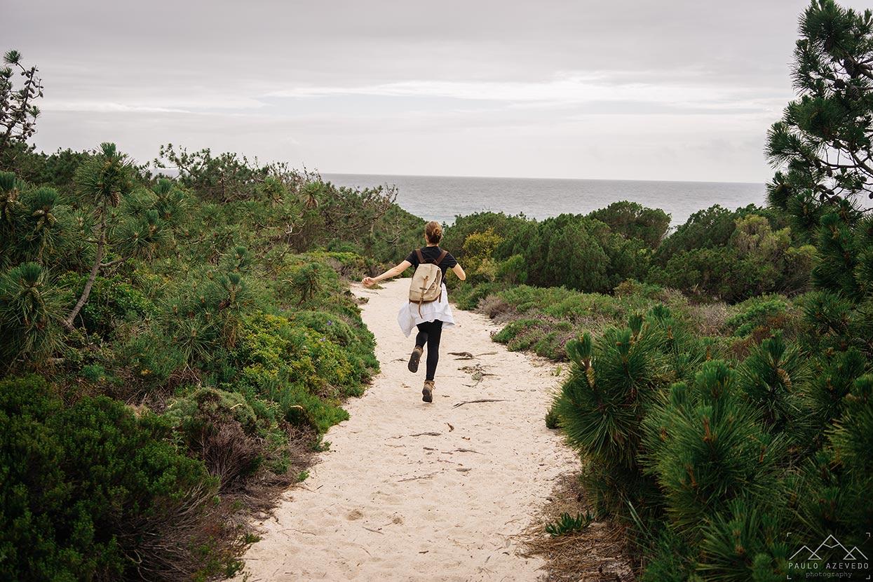 Trilho dos Poços do Barbarroxa, Reserva Natural das Lagoas de Santo André e da Sancha