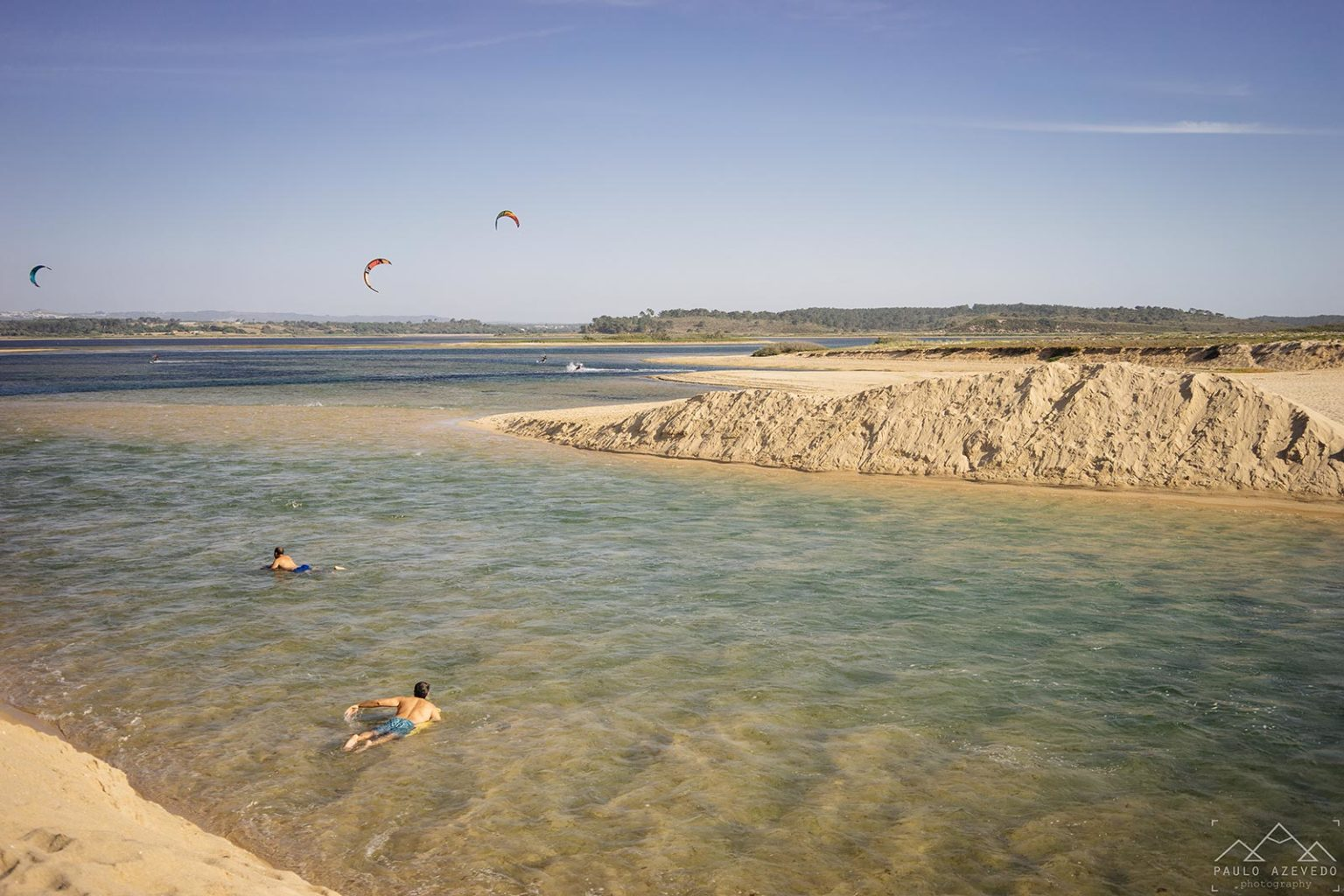 Abertura da Lagoa de Santo André ao mar
