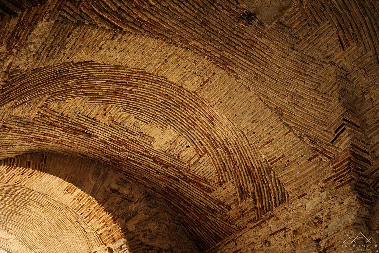 teto arabe do arco da vila