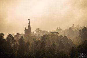 Palácio do Buçaco sob o nevoeiro