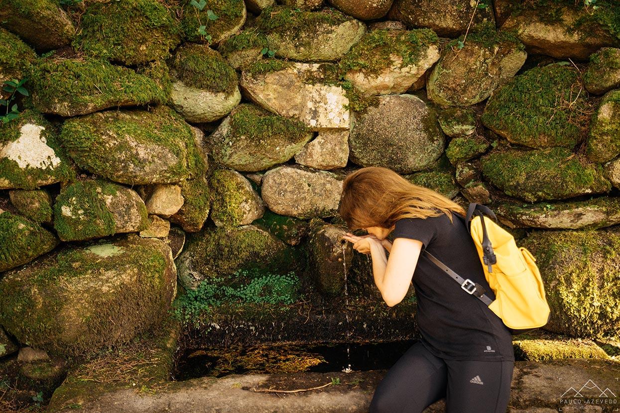 Fonte no Trilho da Peninha, Sintra
