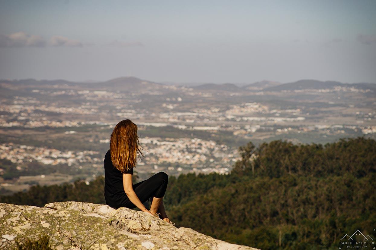 Vista desde a Anta de Adrenunes, Sintra
