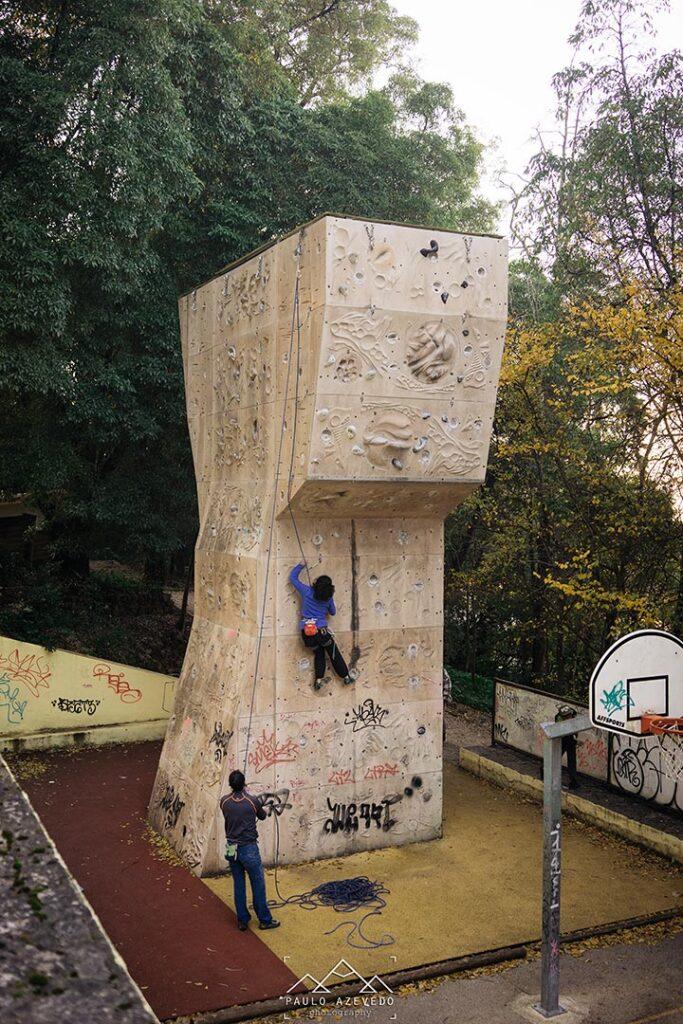 Torre de Escalada na Mata de Benfica