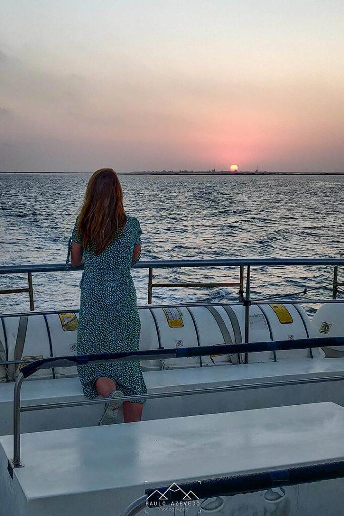 travessia de barco