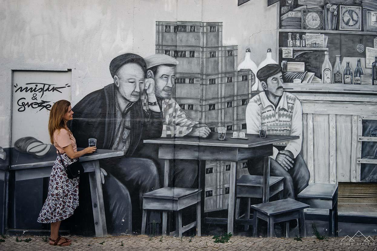 arte urbana em olhão