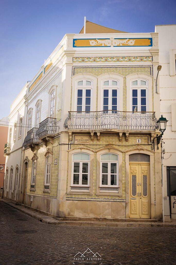 Edifício antigo em Olhão