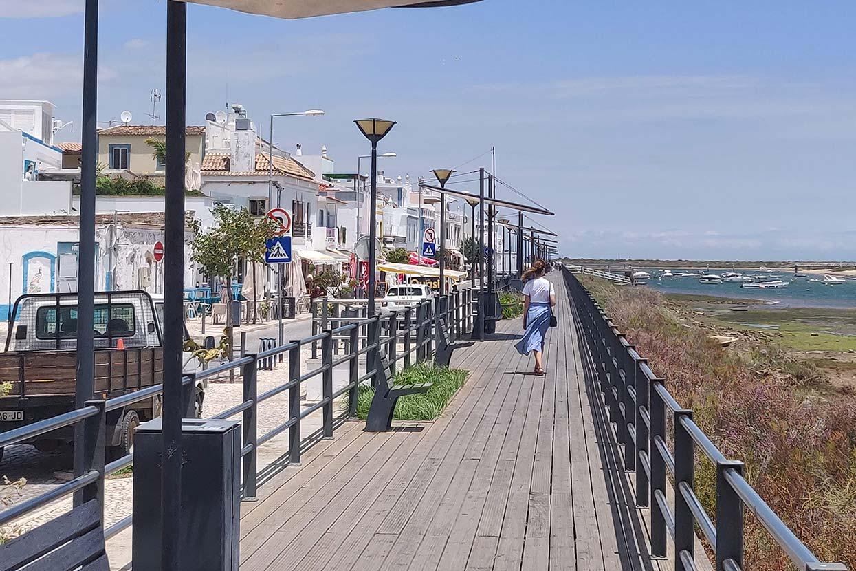 O que visitar no Algarve - cabanas de tavira