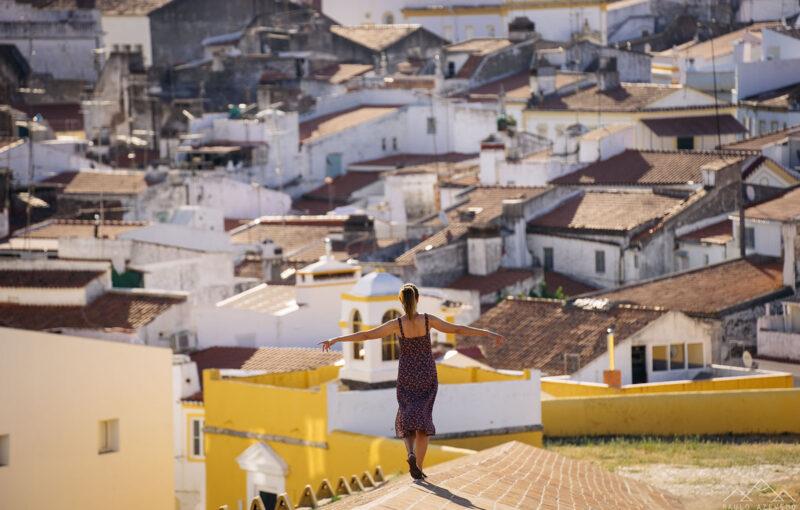 sofia nos telhados dos Quartéis dos Artilheiros